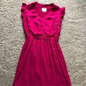 Bright Pink Crepe Kate Spade Dress Size 10